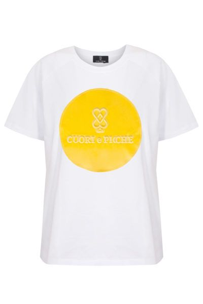 T-SHIRT YELLOW COVER